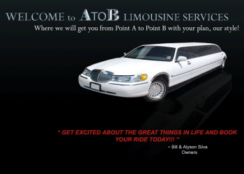 A to B Limousine will get you from Point A to Point B in luxury and style! - 416-881-5638 - Click here to visit our website!