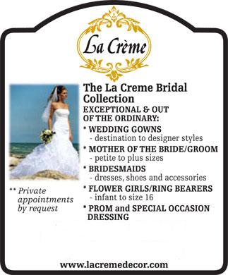 La Creme - Click here to visit our website!
