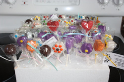 Lisa's Cake Lollies and Treats - Yummy Chocolate-Covered Treats On A Stick - Click here to visit our website!