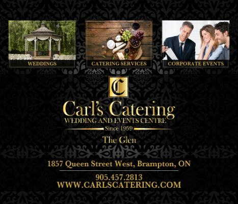 Carl's Catering - The Glen Banquet and Event Centre - The perfect venue for your wedding or special event - Click here to visit our website!