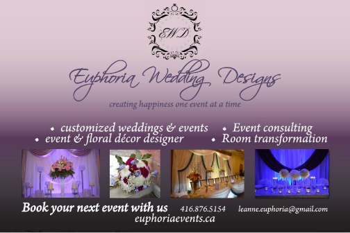 Euphoria Wedding Designs - Click here to visit our website!