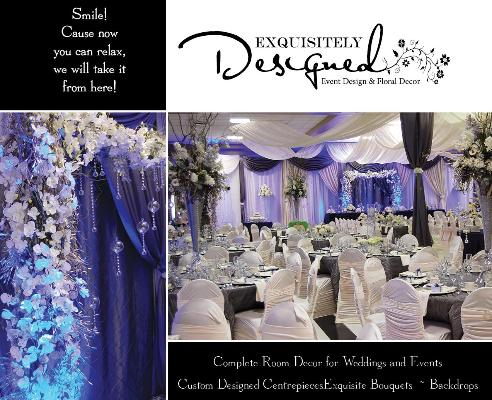 Exquisitely Designed Wedding / Event Decor -          Click here to visit our website!