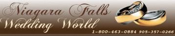 Niagara Falls Wedding World ~ Two elegant chapels in the Falls ~ Wedding Officiants for any location ~ 1-800-463-0884 / 905-357-0266 - Click here to visit our website!