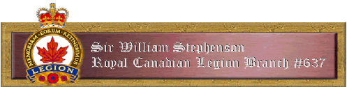 Royal Canadian Legion - Branch 637 - Click here to visit our website!