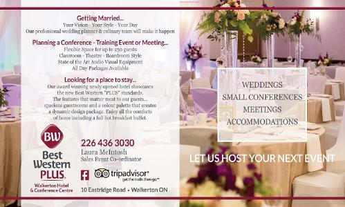 Best Western Plus Walkerton Hotel and Conference Centre - Click here to visit our website!