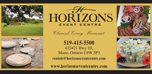 The Horizons Event Centre - Click here to visit our website!